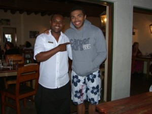 Bryan Habana at the Toad