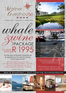 Wine and Whale Package