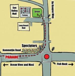Traffic Map for Spectators