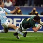 Rugby: South Africa vs. Argentina