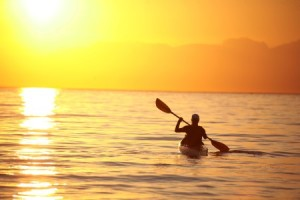 Sunset Kayak Photo: Jacques Marais