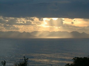 Storm Clouds across False bay