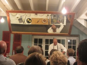 Cooking Demo at the Foodbarn