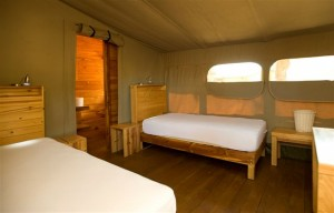 Smitswinkel tented camp. Image courtesy of SANParks