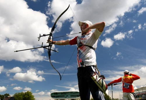 Recurve Archery Bow. Image: Mike Hewitt (Getty Images)