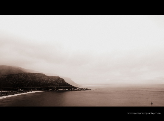 Fish Hoek from above