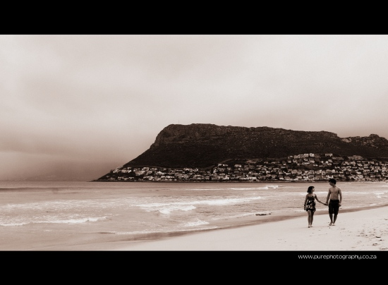 Love on Fish Hoek Beach