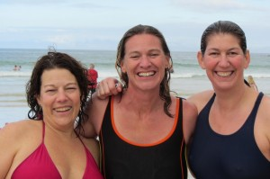 Shivering Cape Point Route girls