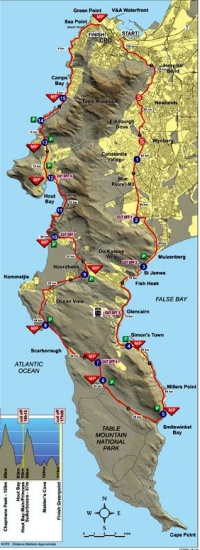 Argus route map 2013