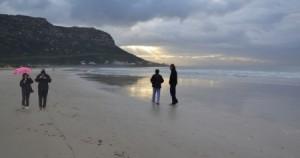 Winter Walk on Fish Hoek Beach (Google Images)