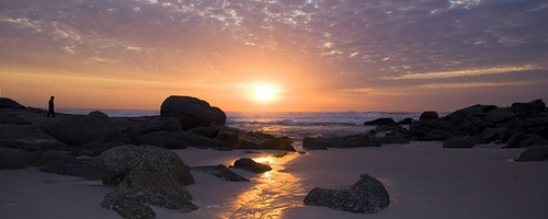 Romantic Noordhoek Beach Sunset