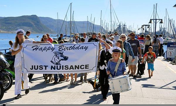 Just Nuisance Birthday Parade, Simon's Town