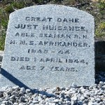 Just Nuisance Grave, Simon's Town