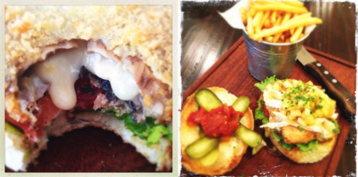 Cafe Roux - Shroom Burger & Chicken Burger