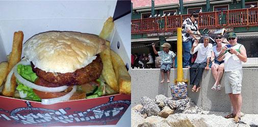 Mariner's Wharf Bistro Surf Burger