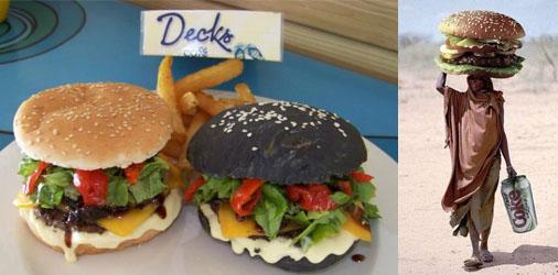 Decks Black & White Burger (& a good promo!)
