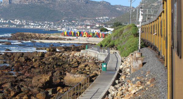 Train journey Cape Town - Simon's Town