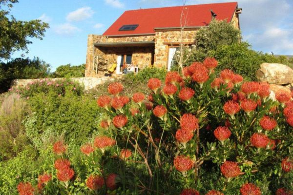 Noordhoek cottages on the Hill