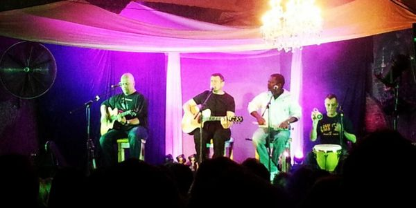Johnny Clegg - sold out show at the 1st Bay Harbour Unplugged Session