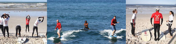 Year End Functions_Group Surfing Lesson