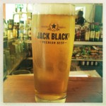 Jack Black at Cafe Roux