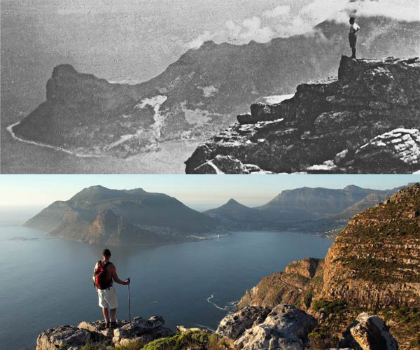 Chapman's Peak Hike - 1930's and Today