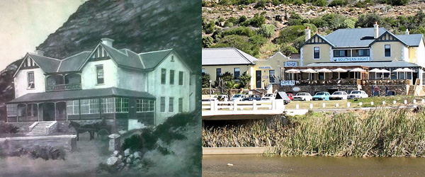 Glencairn Hotel in the 1900's and in 2007