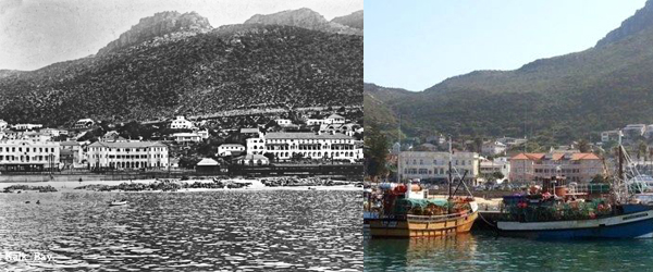 Kalk Bay Early 1920's and today