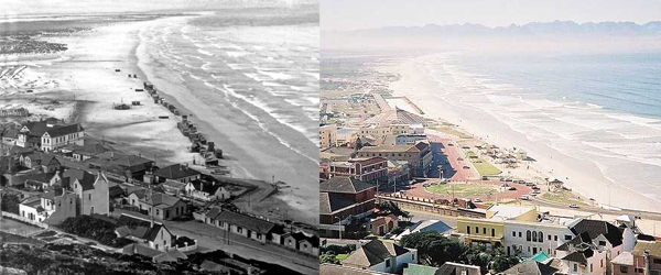 Muizenberg Early 1900's and Today