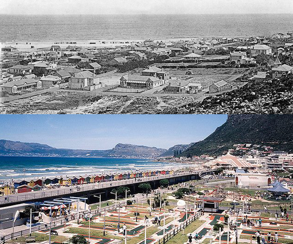 Muizenberg Late 1800's and 1969