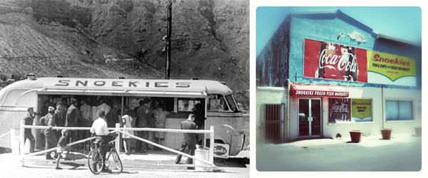 Snoekies in Hout Bay 1961 and Today