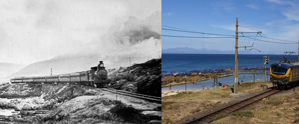 The Train in Glencairn in 1917 and Today