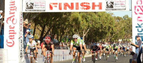 Finish in Green Point