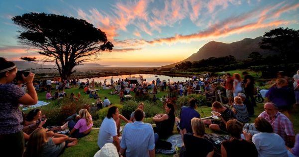 Cape Point Vineyards Community Market Sunset