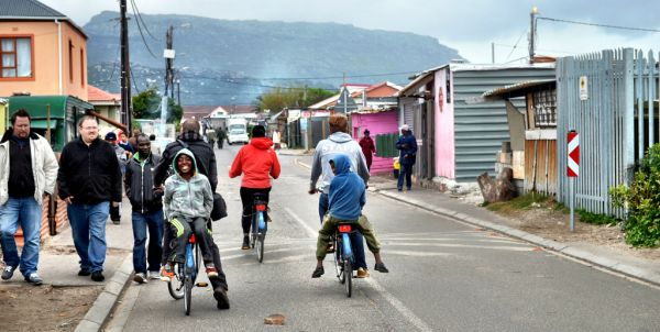 Township Bicycle Tour. Photo Matt Long