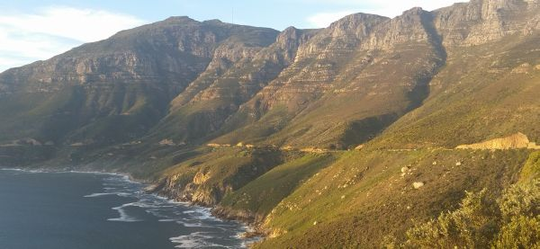 Chapman's Peak Drive - towards Hout Bay