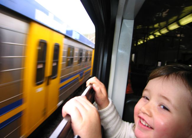 False Bay Train Ride with Kids. Photo_ JacquesMarais
