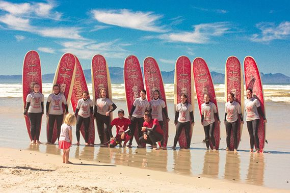 Kids Surf Lessons. Photo. Learn to Surf