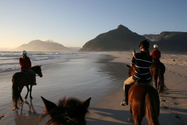 Horse-riding in Noordhoek Photo_ Facebook