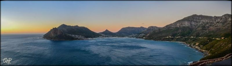 Chapmans Peak Drive Sunset Photo. What's The Point