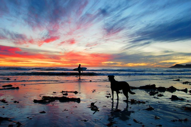 Scarborough Beach Sunset Photo. Jo Duxbury