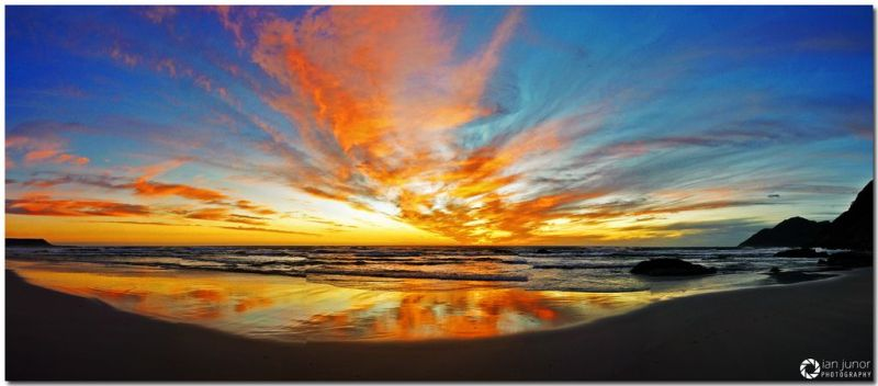Noordhoek Beach Sunset. Photo. Ian Junior