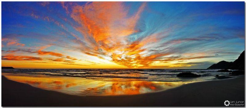 Noordhoek Beach Sunset. Photo. Ian Junior
