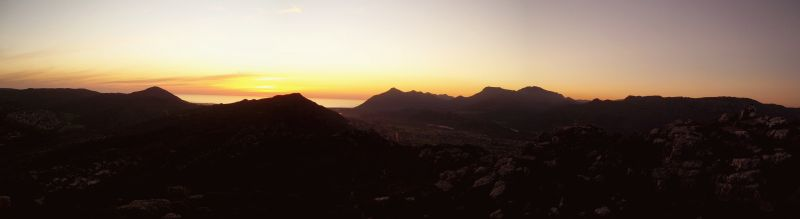iew from Elsies' Peak at Sunset. Photo. flickr