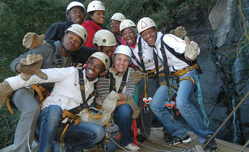 Cape Canopy Tour Team Build Cape Town