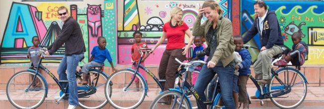 Township Bike Tour. Photo: AWOL tours