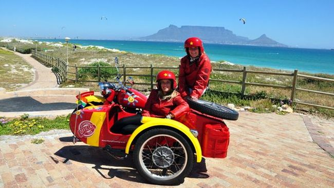 Cape Town Vintage Sidecar Adventure & Day Tour