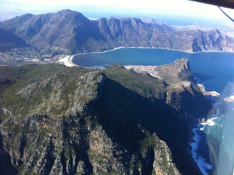 Hout Bay Aerial View