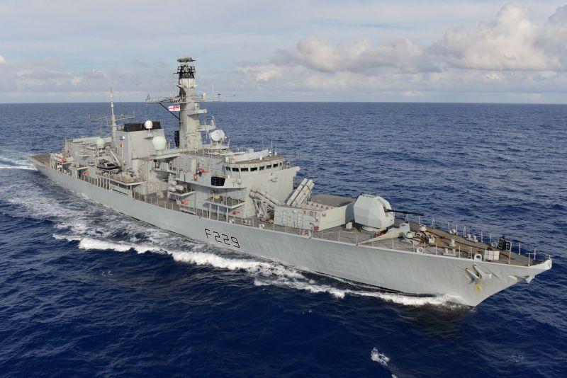 The HMS Lancaster