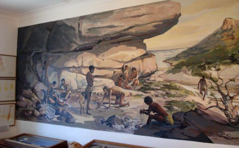Fish Hoek Valley Museum - Peers Cave Display